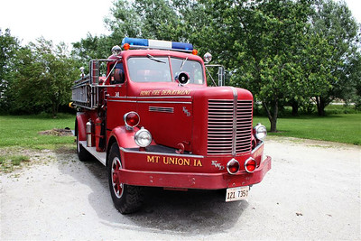 MT UNION FD IA  ENGINE  FWD FRONT VIEW