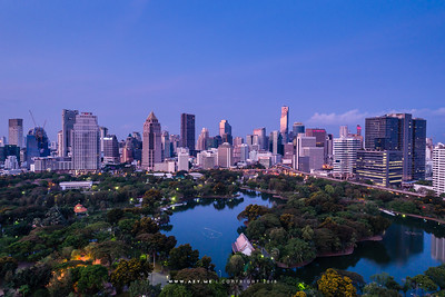 A morning at Lumphini Park