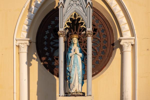 Virgin Mary, Holy Rosary Church