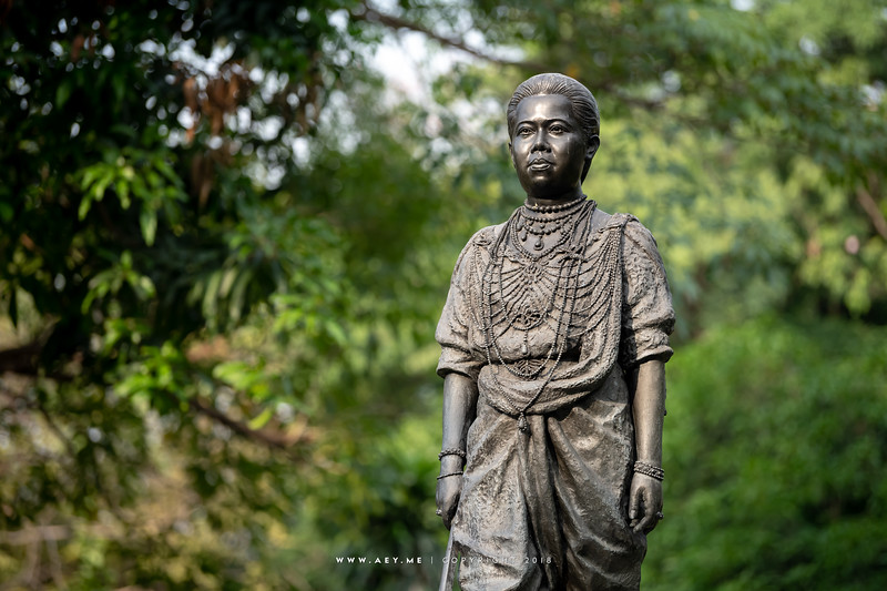 The Statue of Her Majesty Queen Saovabha Queen Mother of King Vajiravudh