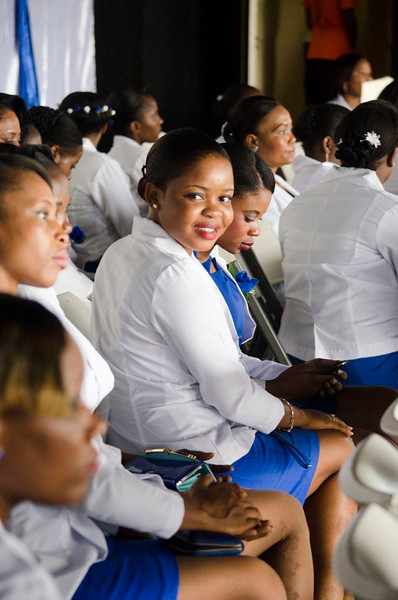 80 youth  (77 girls and 3 boys) graduated from a vocational training program in August 2016 at the Municipal Palace of Delmas. These young people were trained in hair styline, cooking cosmetology and office IT. The training took place at the Lighthouse Community Training Centre in Cite Soleil through PRODEPUR.   The project is funded by the World Bank, BMPAD and PADF.