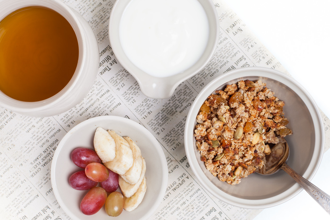 QUTN, Breakfast in Bed: Homemade Granola.