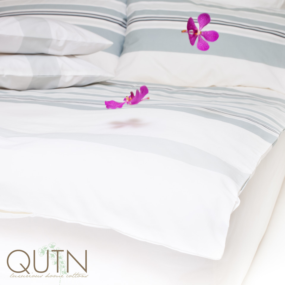 High quality bed and bath linen made of organic, fair trade cotton