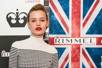 Georgia May Jagger for Rimmel London
