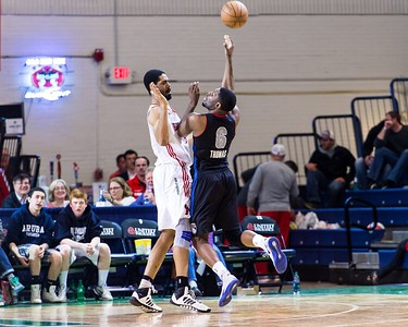 Maine Red Claws NBA D Basketball 2013-14 regular season contest against the Springfield Armor on 3/23/2014. Portland Exposition Building, Portland, Maine, USA. Photo: Michael McSweeney.