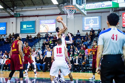 Maine Red Claws vs. Canton Charge at the Portland Exposition Building on 12/14/2014. Portland, Maine. (Photo by Michael McSweeney/Maine Red Claws)