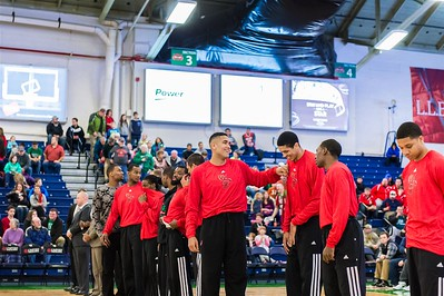 Maine Red Claws NBA D Basketball 2013-14 regular season contest against the Delaware 87ers on 12/31/2013. Portland Exposition Building, Portland, Maine, USA. Photo: Michael McSweeney.