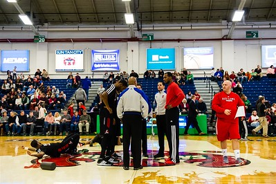 Maine Red Claws 2013-14 regular season contest against the Idaho Stampede at the Portland Exposition Building. Portland, Maine on December 07 2013. Photo: Michael McSweeney.