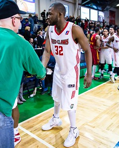 Maine Red Claws NBA D Basketball 2013-14 regular season contest against the Fort Wayne Mad Ants on 3/31/2014. Portland Exposition Building, Portland, Maine, USA. Photo: Michael McSweeney.