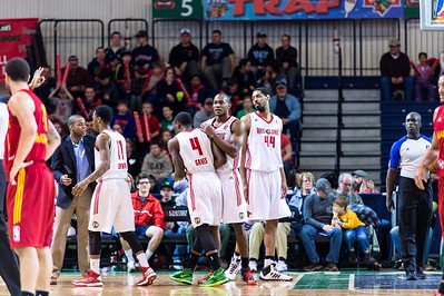 Maine Red Claws NBA D Basketball 2013-14 regular season contest against the Fort Wayne Mad Ants on 3/9/2014. Portland Exposition Building, Portland, Maine, USA. Photo: Michael McSweeney.