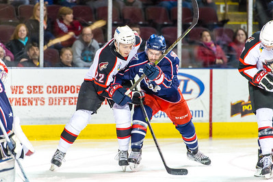 Portland Pirates vs. Springfield Falcons at the Cross Insurance Arena in Portland, Maine on 3/1/2015. (Photo by Michael McSweeney/Portland Pirates)