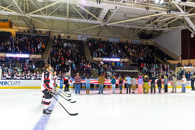 Portland Pirates vs. Manchester Monarchs in VIP Cup action at the Cross Insurance Arena in Portland, Maine on 4/3/2015. (Photo by Michael McSweeney/Portland Pirates)