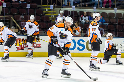 Portland Pirates regular season contest against the Lehigh Valley Phantoms at the Cross Insurance Arena in Portland, Maine on 1/3/2016. (Photo by Michael McSweeney/Portland Pirates)