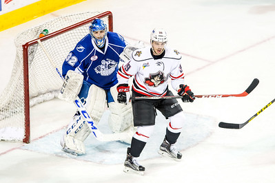 Portland Pirates regular season contest against the Syracuse Crunch at the Cross Insurance Arena in Portland, Maine on 3/4/2016. (Photo by Michael McSweeney/Portland Pirates)