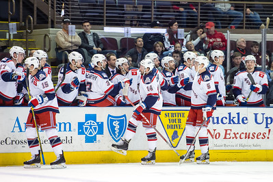 Portland Pirates regular season contest against the Hartford Wolf Pack at the Cross Insurance Arena in Portland, Maine on 2/5/2016. (Photo by Michael McSweeney/Portland Pirates)
