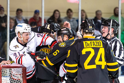 Portland Pirates regular season contest against the Providence Bruins at the Cross Insurance Arena in Portland, Maine on 2/6/2016. (Photo by Michael McSweeney/Portland Pirates)