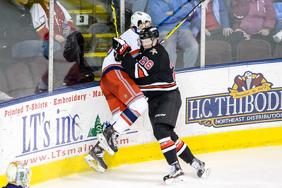 Portland Pirates regular season contest against the Hartford Wolf Pack at the Cross Insurance Arena in Portland, Maine on 4/10/2016. (Photo by Michael McSweeney/Portland Pirates)