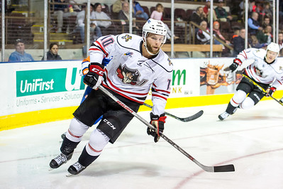 Portland Pirates regular season contest against the Bridgeport Sound Tigers at the Cross Insurance Arena in Portland, Maine on 12/11/2015. (Photo by Michael McSweeney/Portland Pirates)