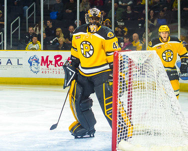 Providence Bruins vs. Portland Pirates at the Dunkin Donuts Center in Providence, Rhode Island on 12/13/2014. (Photo by Michael McSweeney/Portland Pirates)