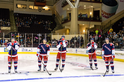 Portland Pirates regular season contest against the Hartford Wolf Pack at the Cross Insurance Arena in Portland, Maine on 11/13/2015. (Photo by Michael McSweeney/Portland Pirates)