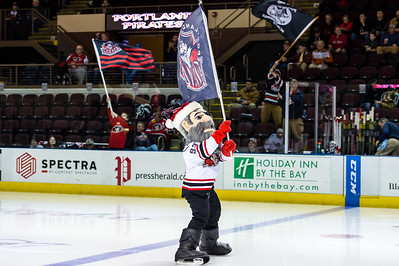 Portland Pirates regular season contest against the Springfield Falcons at the Cross Insurance Arena in Portland, Maine on 12/16/2015. (Photo by Michael McSweeney/Portland Pirates)