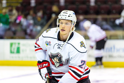 Portland Pirates regular season contest against the Hershey Bears at the Cross Insurance Arena in Portland, Maine on 10/17/2015. (Photo by Michael McSweeney/Portland Pirates)