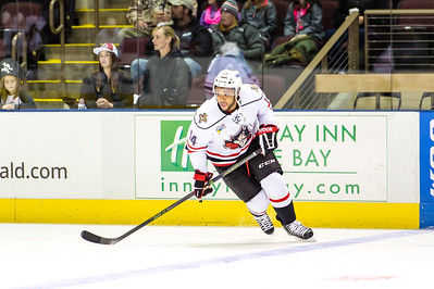 Portland Pirates vs Hershey Bears. Cross Insurance Arena in Portland, Maine on 10/17/2015. (Photo by Michael McSweeney/Portland Pirates).