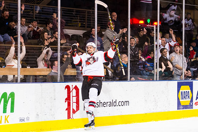 Portland Pirates vs. Providence Bruins at the Cross Insurance Arena in Portland, Maine on 12/19/2014. (Photo by Michael McSweeney/Portland Pirates)