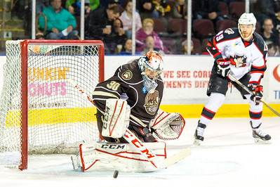 Portland Pirates vs. Hershey Bears at the Cross Insurance Arena in Portland, Maine on 3/21/2015. (Photo by Michael McSweeney/Portland Pirates)
