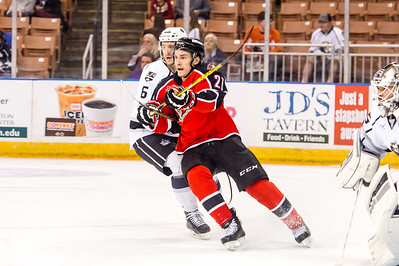 Eastern Conference Quarterfinals Game 1. Portland Pirates vs. Manchester Monarchs at the Verizon Wireless Center in Manchester, New Hampshire on 4/23/2015. (Photo by Michael McSweeney/Portland Pirates)