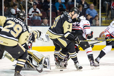 Portland Pirates regular season contest against the Wilkes-Barre/Scranton Penguins at the Cross Insurance Arena in Portland, Maine on 1/23/2016. (Photo by Michael McSweeney/Portland Pirates)