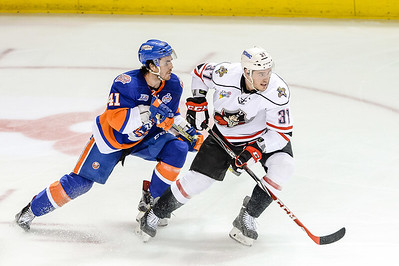 Portland Pirates regular season contest against the Bridgeport Sound Tigers at the Cross Insurance Arena in Portland, Maine on 3/23/2016. (Photo by Michael McSweeney/Portland Pirates)