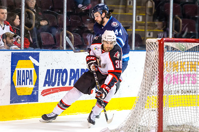 Portland Pirates regular season contest vs. the St. John's IceCaps at the Cross Insurance Arena in Portland, Maine on 3/25/2015. (Photo by Michael McSweeney/Portland Pirates)