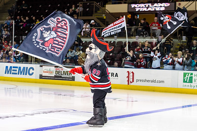 Portland Pirates regular season contest against the Utica Comets at the Cross Insurance Arena in Portland, Maine on 11/27/2015. (Photo by Michael McSweeney/Portland Pirates)