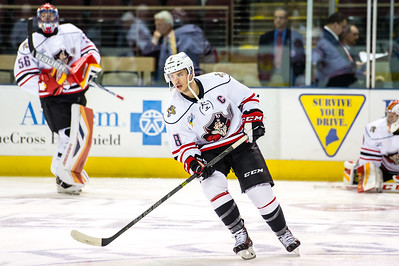 Portland Pirates regular season contest against the Utica Comets at the Cross Insurance Arena in Portland, Maine on 11/28/2015. (Photo by Michael McSweeney/Portland Pirates)