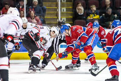 Portland Pirates regular season contest against the St. John's IceCaps at the Cross Insurance Arena in Portland, Maine on 1/29/2016. (Photo by Michael McSweeney/Portland Pirates)