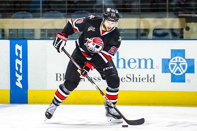 Portland Pirates vs Rochester Americans. Cross Insurance Arena in Portland, Maine on 10/31/2015. (Photo by Michael McSweeney/Portland Pirates).