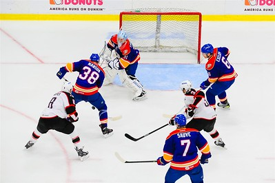 AHL Portland Pirates host the AHL Norfolk Admirals during a 2013-14 regular season contest at the Androscoggin Bank Colisée, Lewiston, Maine, USA, on 4/13/2014. Photo: Michael McSweeney.