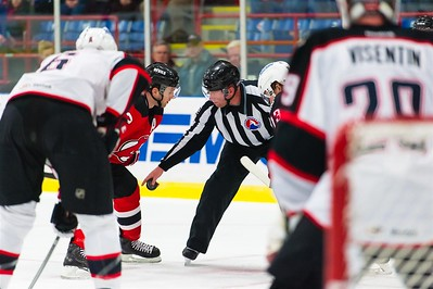 AHL Portland Pirates host the AHL Albany Devils during a 2013-14 regular season contest at the Androscoggin Bank Colisée, Lewiston, Maine, USA, on 3/7/2014. Photo: Michael McSweeney.