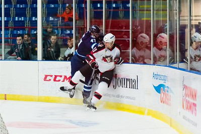 AHL Portland Pirates host the AHL St. John's IceCaps during a 2013-14 regular season contest at the Androscoggin Bank Colisée, Lewiston, Maine, USA, on 2/18/2014. Photo: Michael McSweeney.