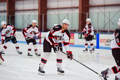 AHL Portland Pirates 2013-2014 final regular season contest vs the AHL St. John's IceCaps at the MHG Ice Centre. Saco, Maine on 4/19/2014. Photo: Michael McSweeney.