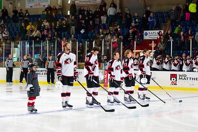 AHL Portland Pirates host the AHL Worcester Sharks during a 2013-14 regular season contest at the Androscoggin Bank Colisée, Lewiston, Maine, USA, on 2/27/2014. Photo: Michael McSweeney.