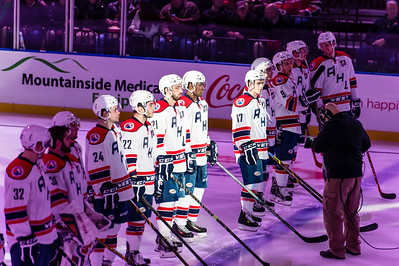 2015 AHL All-Star Classic at the Utica Memorial Auditorium in Utica, New York on 1/26/2015. (Photo by Michael McSweeney/Portland Pirates)