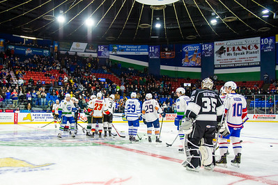 2015 AHL All-Star Skills Challenge at the Utica Aud in Utica, New York on 1/25/2015. (Photo by Michael McSweeney/Portland Pirates)