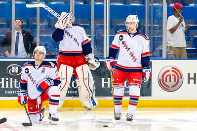 Portland Pirates vs.Hartford Wolf Pack at the XL Center in Hartford, Connecticut on 12/27/2014. (Photo by Michael McSweeney/Portland Pirates)