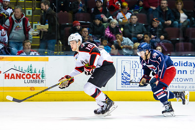 Portland Pirates vs. Springfield Falcons at the Cross Insurance Arena in Portland, Maine on 1/2/2015. (Photo by Michael McSweeney/Portland Pirates)