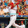 August 20, 2009: Phillie's catcher Carlos Ruiz (51) land a homerun into the left field stands during the game between the Arizona Diamondbacks and the Philadelphia Phillies at Citzens Bank Park in Philadelphia, PA. The Phillies defeated the Diamondbacks 12-3. Donald B. Kravitz