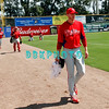 February 28, 2011; The Philadelphia Phillies'  played the Toronto Blue Jays during the their Spring Training season at  Florida Auto Exchange Stadium in Dunedin, Fla. The Phillies'  won, 6-3<br /> Photos by Donald B. Kravitz