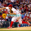 8 September 2008: Philadelphia Phillies' starting pitcher Joe Blanton (56) fires a strike out pitch in the game against the Florida Marlins. Philadelphia went on to win defeating the Marlins 8-6 in Citizens Bank Stadium in Philadelphia, PA