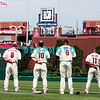 7 August 2008: Philadelphia Phillies' Shane Victorino (8), Geoff Jenkins (10), Ryan Howard (6) and Jimmy Rollins (!!) face the flag during the National Anthym before the Florida Marlins. Philadelphia Phillies game The Marlins went on to win defeating the Phillies 3-0 in Citizens Bank Stadium in Philadelphia, PA